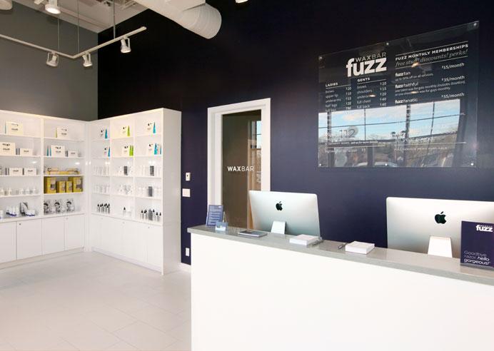 Fuzz wax bar, front