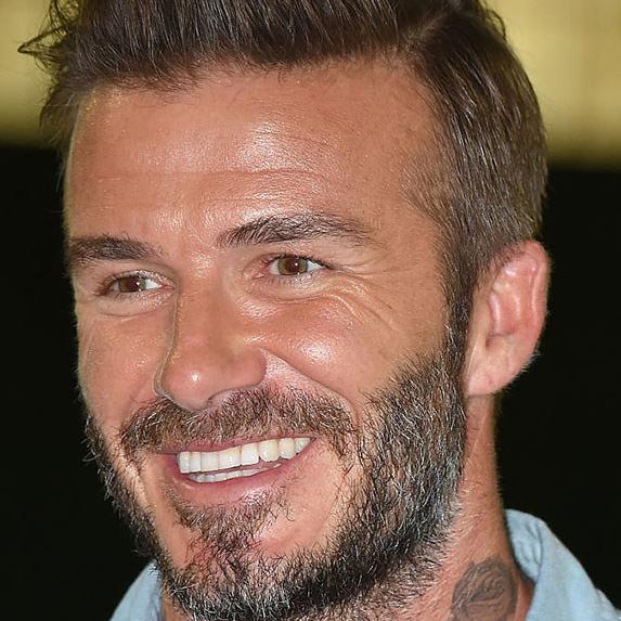 David Beckham teeth 2016