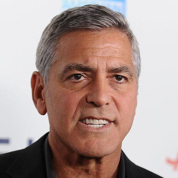 George Clooney teeth after