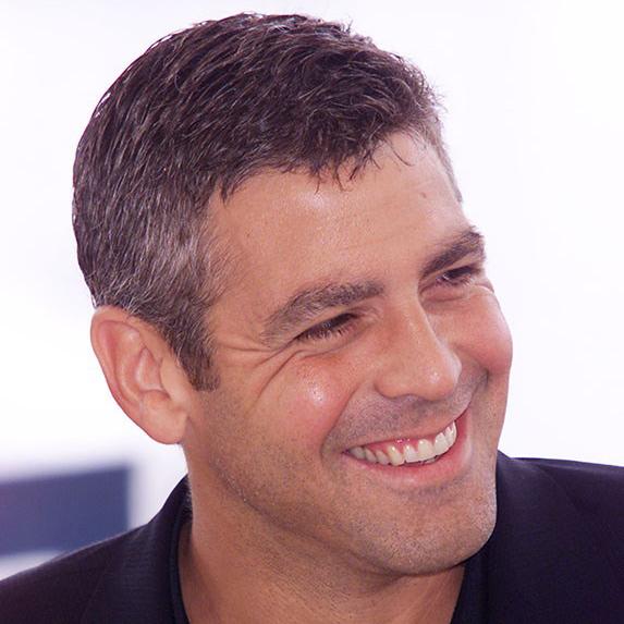 George Clooney teeth before