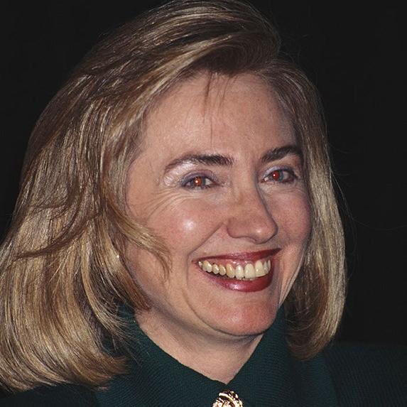 Hillary Clinton teeth