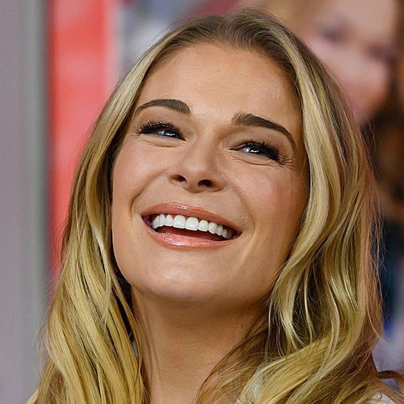 LeAnn Rimes taping an episode of 'Today' in November 2018