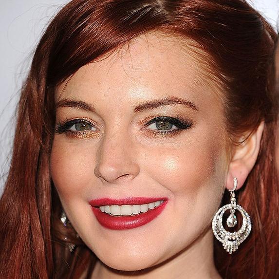 Lindsay Lohan veneers
