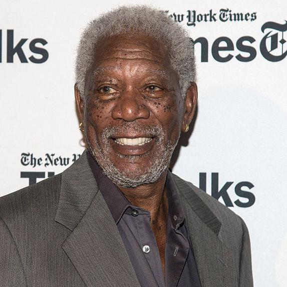 Morgan Freeman teeth after