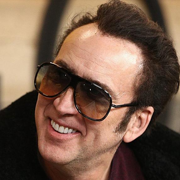 Nicolas Cage at Sundance in January 2018