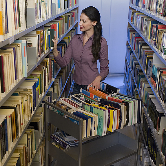 Library assistant job