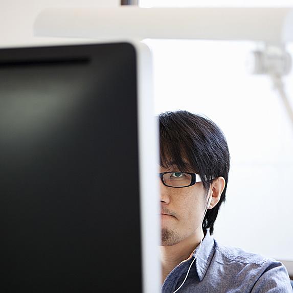 PHP Developer at work