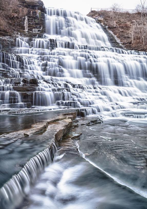 Albion Falls in Hamilton