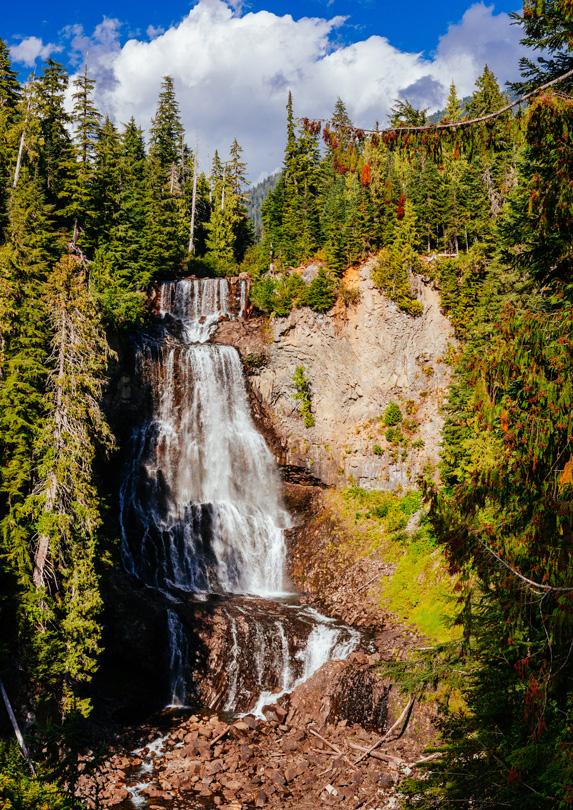 Alexander Falls in Whistler, BC