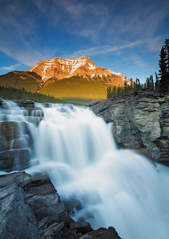 Athabasca Falls in Alberta