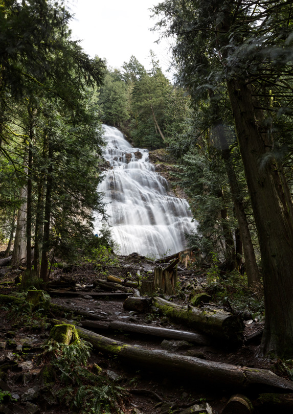 Bridal Veil Falls near Chilliwack, BC