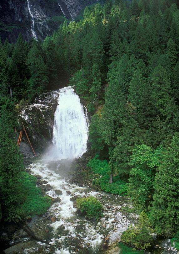 Chatterbox Falls in Princess Louisa Inlet, BC