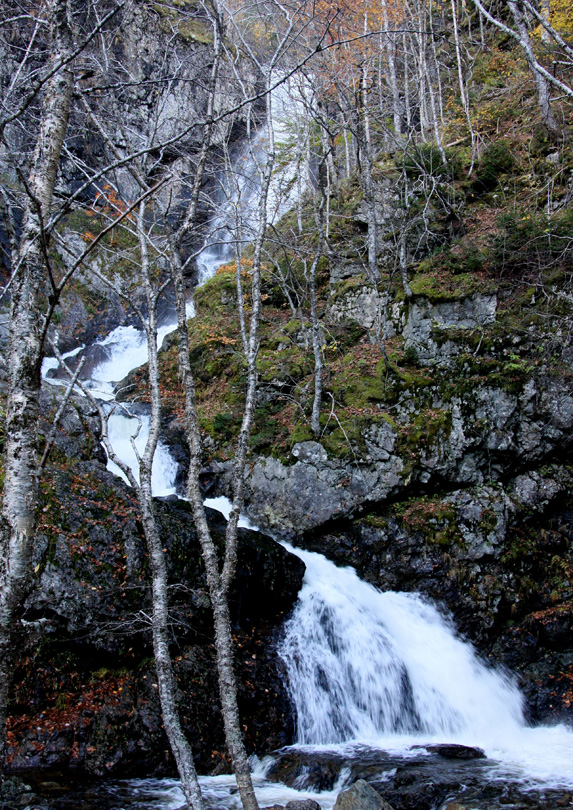 Easach Ban Waterfall in Nova Scotia