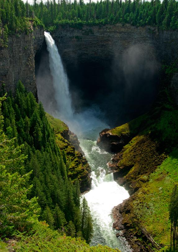 Helmcken Falls in British Columbia