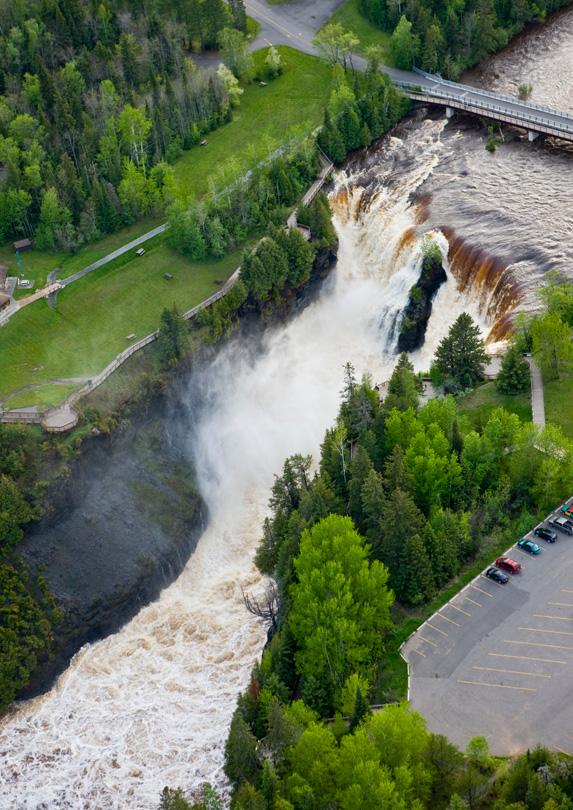 Kakabeka Falls in Ontario