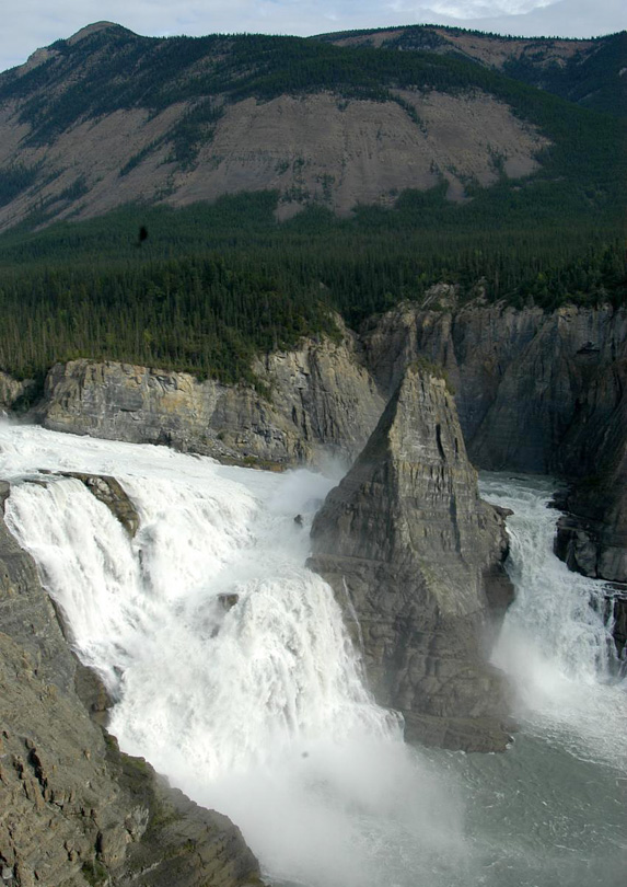 Virginia Falls in North West Territories