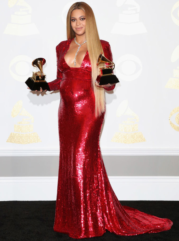 Beyonce at the 2017 grammy awards