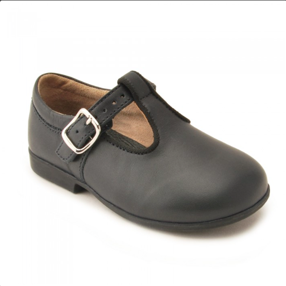 Start-rite Leather T-Bar Buckle Shoes