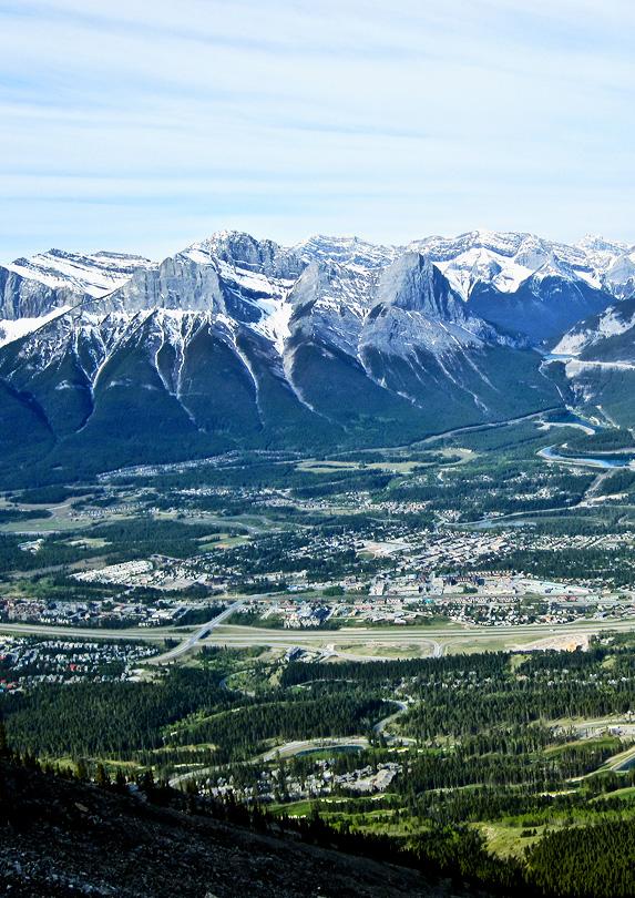 beautiful Canmore, Alberta