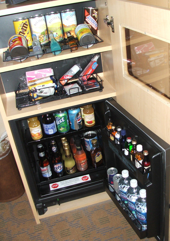 Don't Put Your Own Items in the Mini-bar