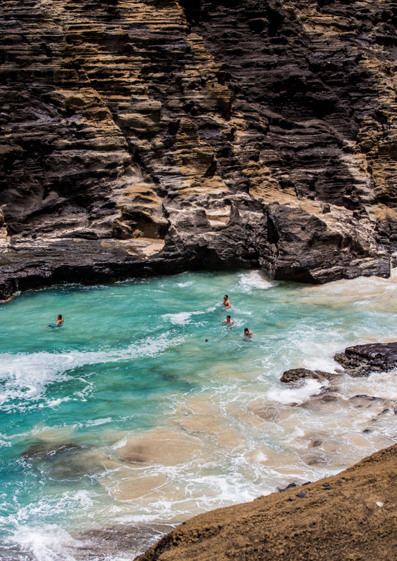 4. Halona Cove, Oahu