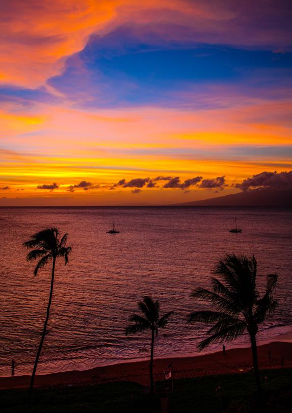 10. Ka'anapali Beach, Maui