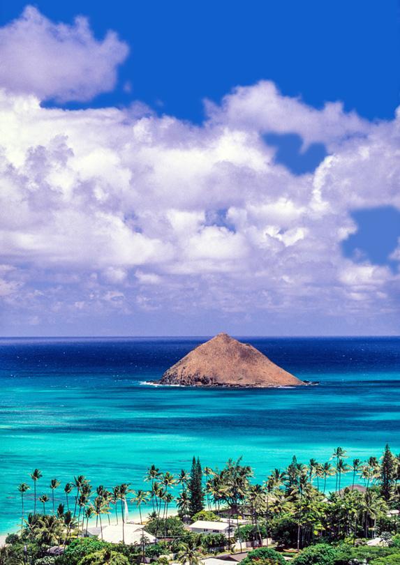5. Lanikai Beach, Oahu