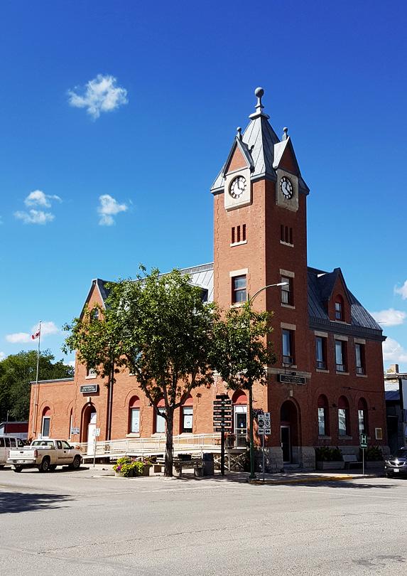 go to Minnedosa, Manitoba in Canada