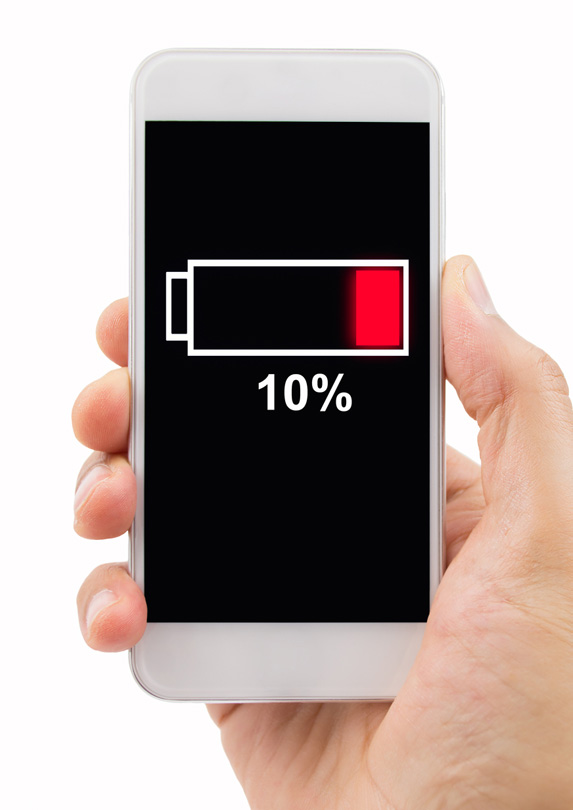 14. Not Charging Your Devices