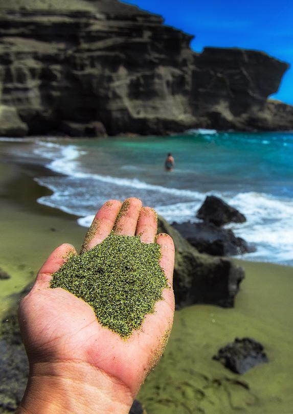 18. Papakolea Beach, Hawai'i