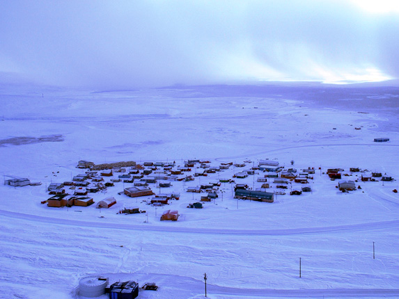 Resolute, Nunavut on your radar