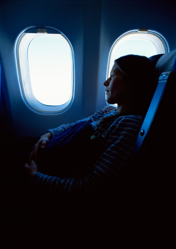 6. Sitting in Economy When Pregnant