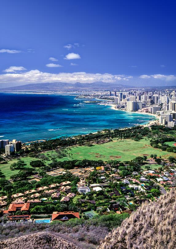 1. Waikiki Beach, Oahu