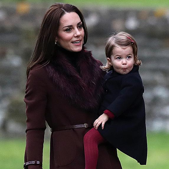 Duchess Kate and Princess Charlotte