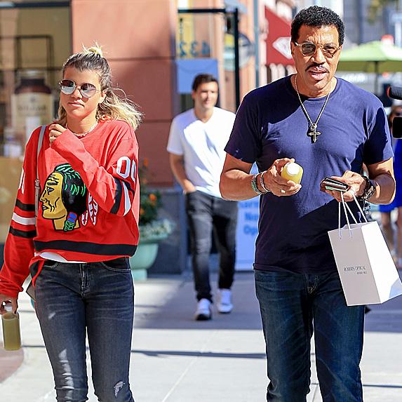 Sofia Richie and Lionel Richie