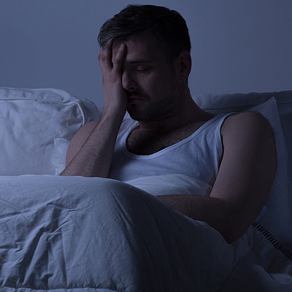 not sleeping causes weight loss
