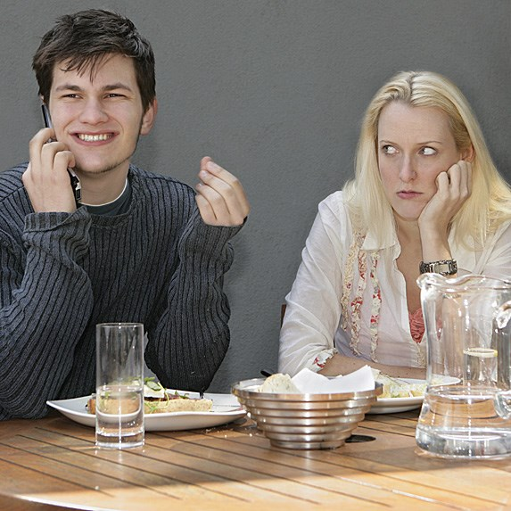 healthy couple listen to each other