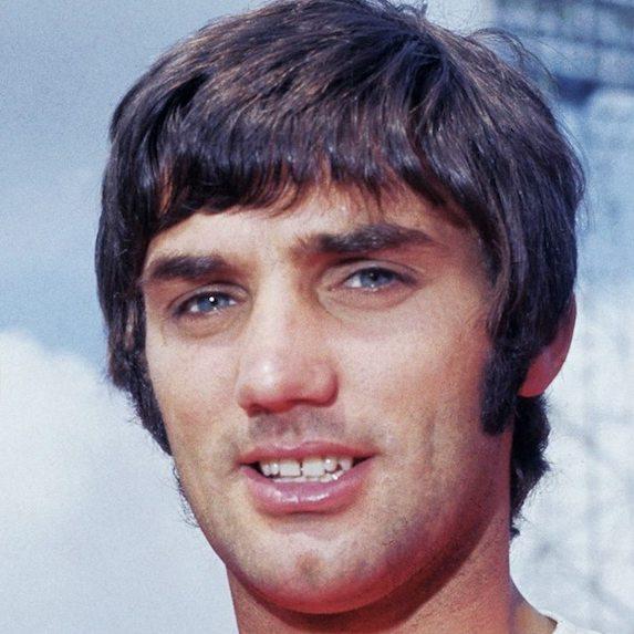 British soccer star George Best