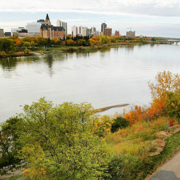 Saskatoon's skyline