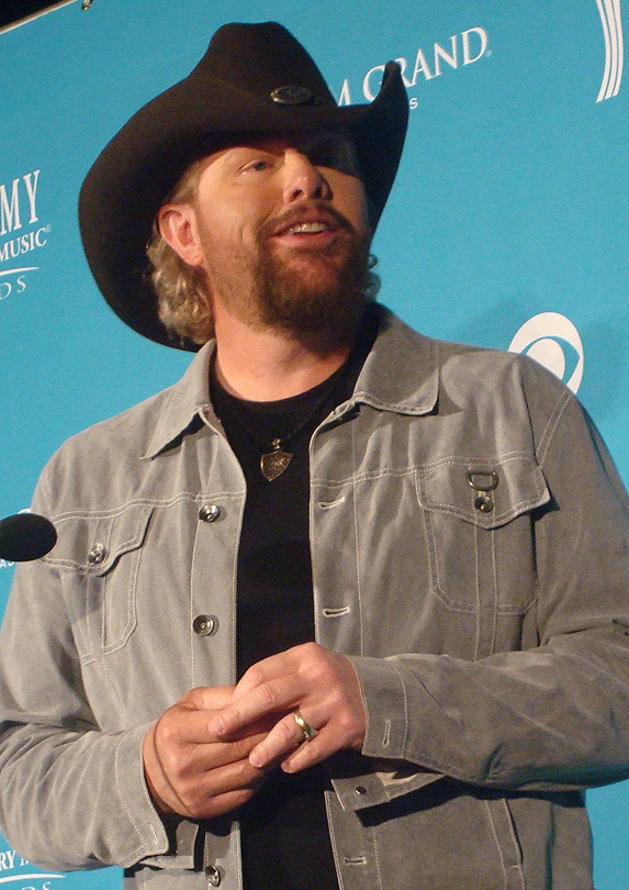 4. Toby Keith