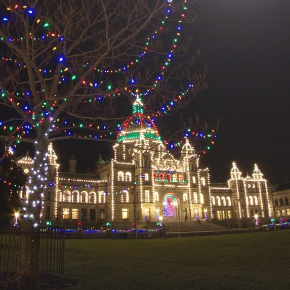 Government buildings in Victoria, British Columbia