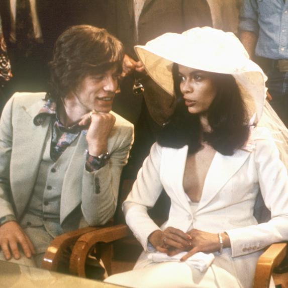Mick Jagger and Bianca Perez-Mora Marcias at their wedding