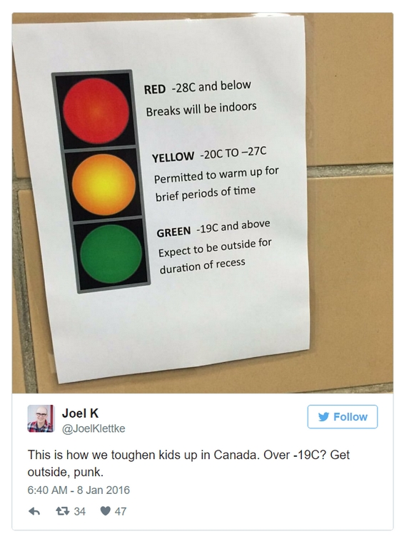 Canada is an amazing country placed in a not very amazing part of the world.