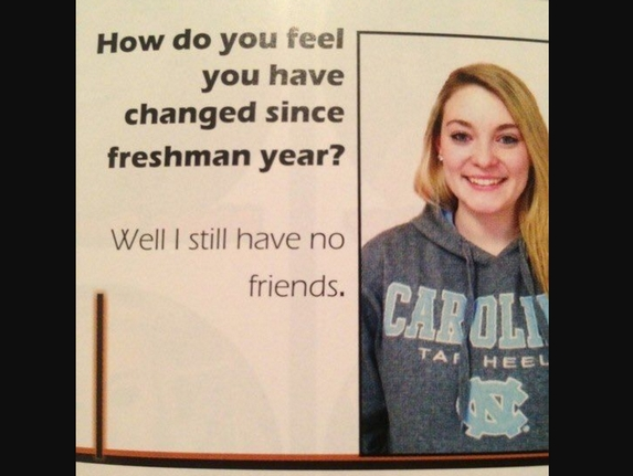 It's funny because she's kidding. (We hope she's kidding.)