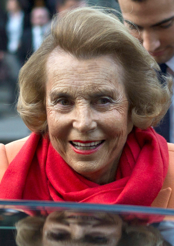 14. Liliane Bettencourt