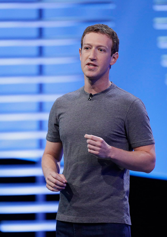 5. Mark Zuckerberg