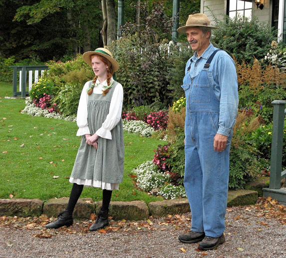 Central Coastal Drive, PEI - Anne of Green Gables actors