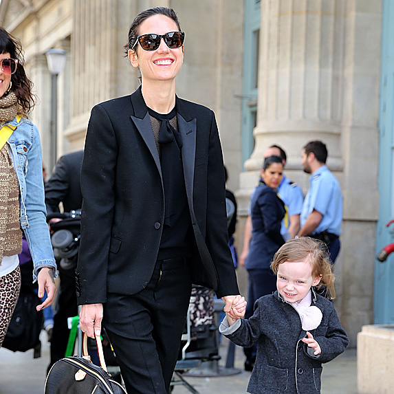 Jennifer Connelly and daughter Agnes