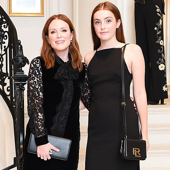 Julianne Moore and daughter Liv