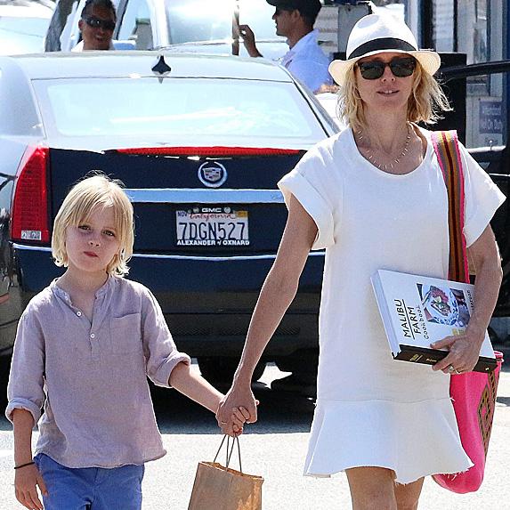 Naomi Watts and son Samuel
